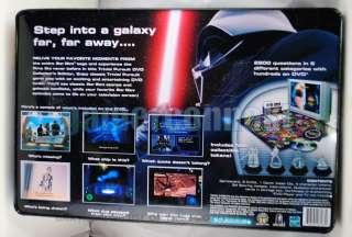 Star Wars Trivia Pursuit DVD Saga Edition Rare Tin Box