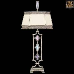 Fine Art Lamps 7303101 Gold Leaf / Multi Color Encased Gems 1 Light