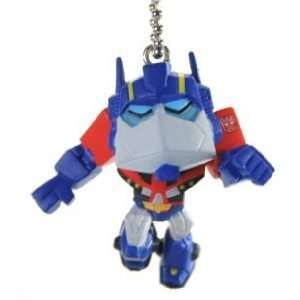 Transformers Animated Figure Optimus Prime Keychain 98614