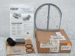 GAST K479 OILLESS VACUUM PUMP REPAIR KIT NEW