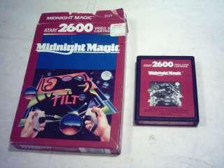 ATARI 2600 GAME; MIDNIGHT MAGIC *MINT* in BOX Boxed