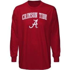 Alabama Crimson Tide Crimson Universal Logo Long Sleeve T