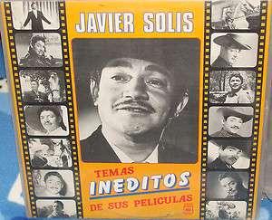 Javier Solis   Temas Ineditos De Sus Peliculas Lp NM 20110526