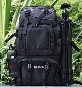SLR Large Capacity Camera Backpack Bag Fit 17 Laptop Canon Nikon