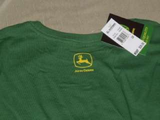 NWT JOHN DEERE Womens Plus Size T Tee Shirt Green 2X