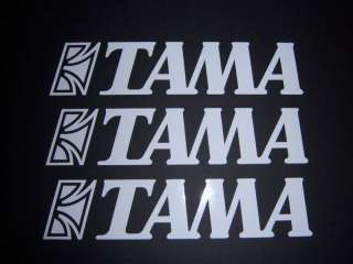 TAMA Drums Decal Set 3 Pack with Free Shipping