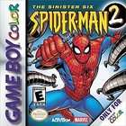 Spider Man 2 The Sinister Six (Nintendo Game Boy Color, 2001)