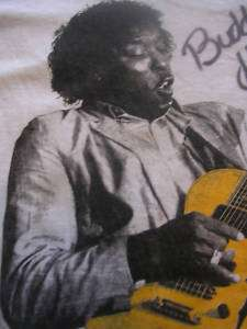 1999 BUDDY GUY CHICAGO LEGENDS ROCK BAND SHIRT GUITAR