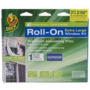 Roll On 84 Inch by 112 Inch Premium Single Extra Large Outdoor Window