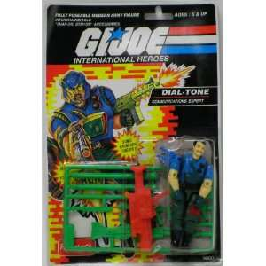Dial Tone GI Joe Action Figure by Funskool: Everything