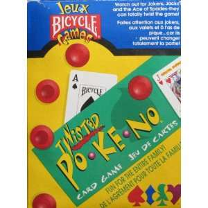 Bicycle Games Twisted Po Ke No Card Game Toys & Games