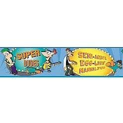 Phineas & Ferb   Agent P Peel & Stick Border  RoomMates Tools Painting