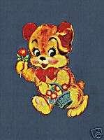 Vintage Teddy Bear Nursery Crafts Decals Transfers