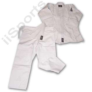 Genuine Gracie Academy Brazilian Jiu Jitsu Grappling White Uniform Gi