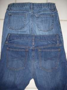 GIRLS HUGE GAP AND OLD NAVY JEANS LOT SIZE 12 |