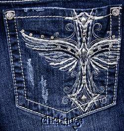 MISS ME Jeans NWT Cleopatras Floating Wing Skinny 30