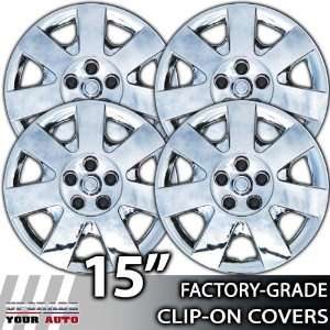 2000 2008 Ford Taurus 15 Inch Chrome Clip On Hubcap Covers Automotive
