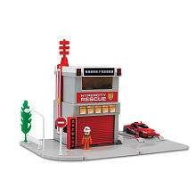Tomica Hypercity Fire Station Playset   Toys R Us   Toys R Us