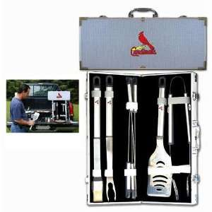 St. Louis Cardinals MLB 8pc BBQ Tools Set Sports