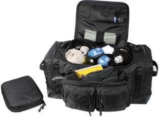 Black Deluxe Law Enforcement Police Gear Bag