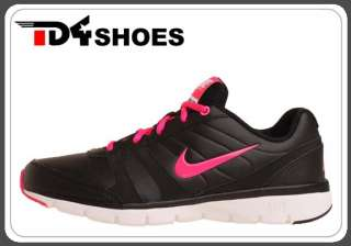Nike Wmns Air Total Core TR Leather Black Pink Flash Training Shoes