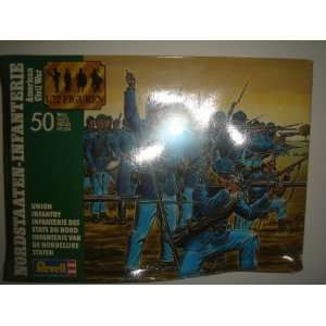 Revell 172 American Civil War Union Infantry Model Kit