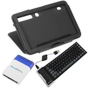 Silicone Keyboard + Mini Brush for Motorola Xoom Tablets Electronics