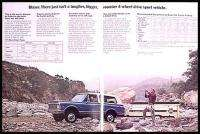 1972 Chevy Chevrolet Pickup Truck 4WD Original Brochure
