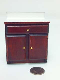12 Dollhouse Miniature Furniture Kitchen cabinet 44