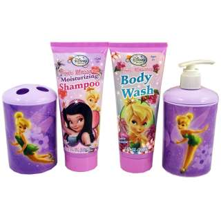 NEW Disney TinkerBell Fairies Deluxe Bathroom Bath Set