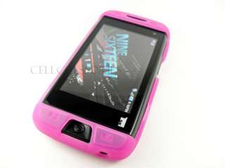 SIDEKICK 4G T MOBILE PINK SOFT SILICONE SKIN COVER CASE