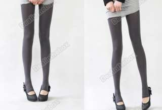 New Fashion 5 Colors Womens Opaque Tights Pantyhose Stockings