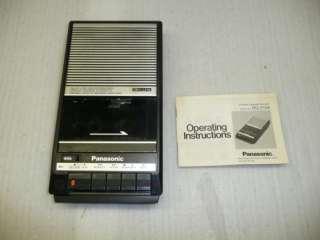 Panasonic Portable Slim Line Cassette Recorder RQ 2104