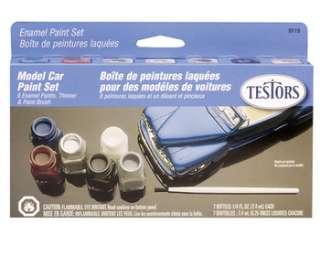 Testors Model Car Enamel Paint Set 9119
