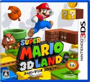Nintendo 3DS software Super Mario 3D land Video Game NEW JAPAN
