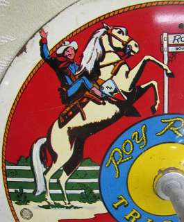 VINTAGE WESTERN COWBOY ROY ROGERS HORSESHOE GAME SET