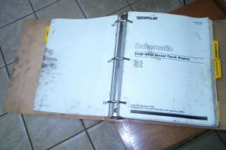 Caterpillar 3100 HEUI Service Manual Diesel Truck Engine S/N 8PN1 UP