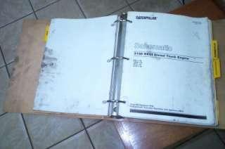 Caterpillar 3100 HEUI Service Manual Diesel Truck Engine S/N 8PN1 UP
