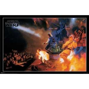 Star Wars   Rock Band New 22x34 Poster  Home & Kitchen