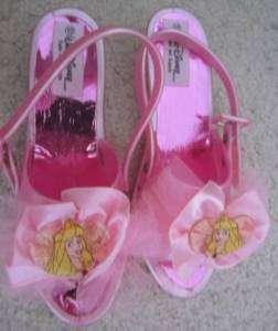 Walt Disney Princess Sleeping Beauty Slippers 1/2 EUC