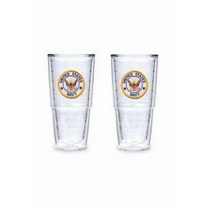 Tervis Tumblers   Military   Navy   24 oz Big T   set of 2