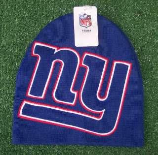 New York Giants NFL Team Apparel Knit hat Beanie cap