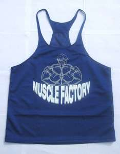 Stringer Bodybuilding Gym Racerback Singlet   Muscle Factory Y Back