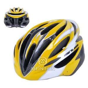 cycling helmet / light one piece ultralight breathable mountain bike