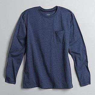 Mens Long Sleeve Jersey Pocket Tee  Covington Clothing Mens Shirts