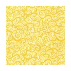 Wild World Fabric 45 15 Yards 100% Cotton D/R Surf/Butter: Arts