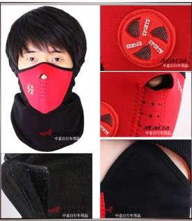 Color Neoprene Warm Neck Face Mask Helmet Guard Sport Cap Bike