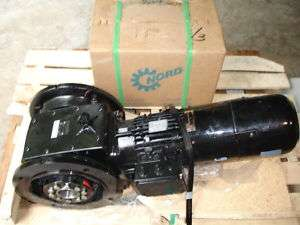 Nord 2 Stage Helical Worm Gear Drive SK 32100AFSH, 5HP