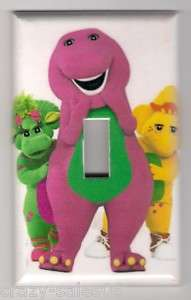 Barney & Friends Decorative Light switch Plate cover