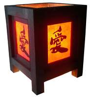 LOVELY MINI ASIAN ORIENTAL CHINESE TABLE LAMP